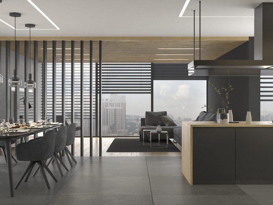 Apartament - jadalnia