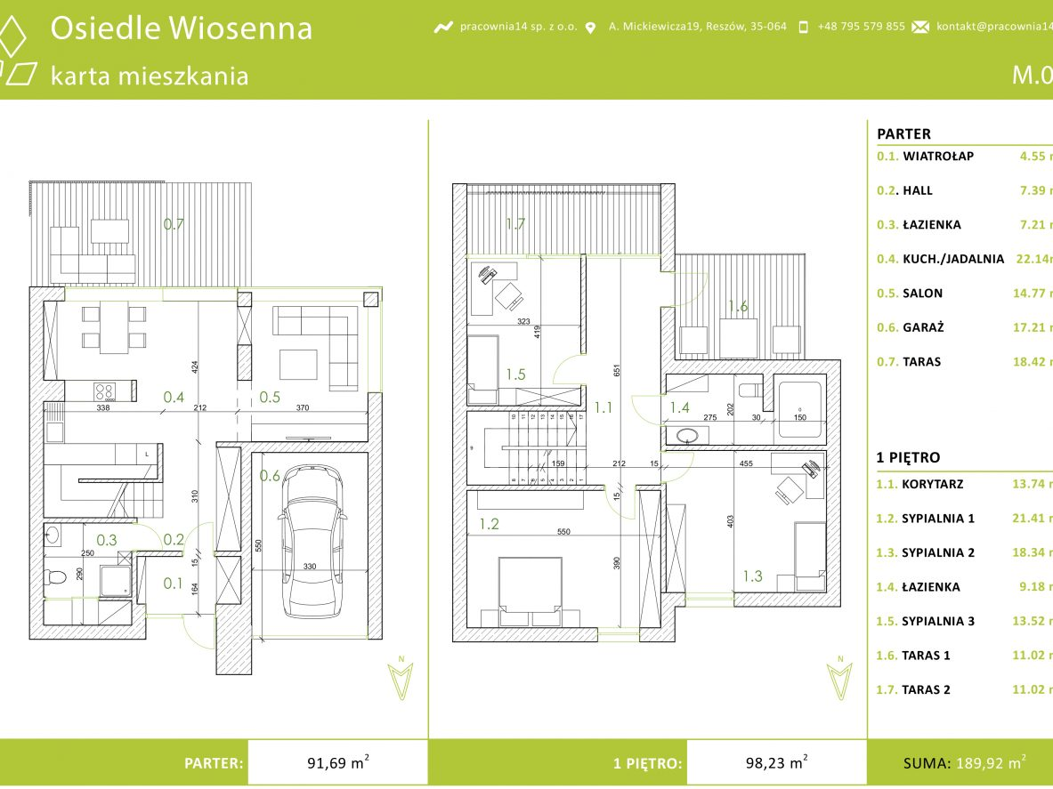 Karta mieszkania 3