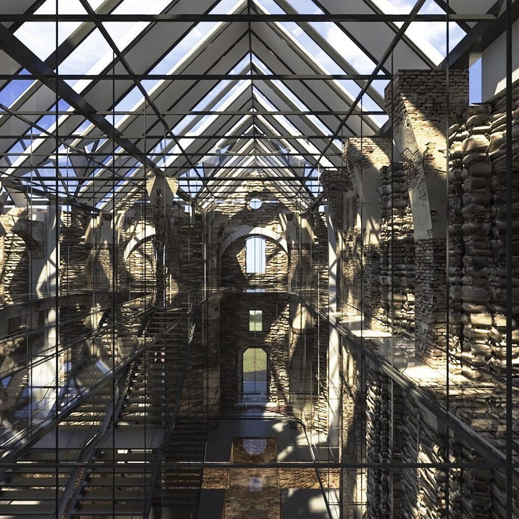 Wnętrze klasztoru