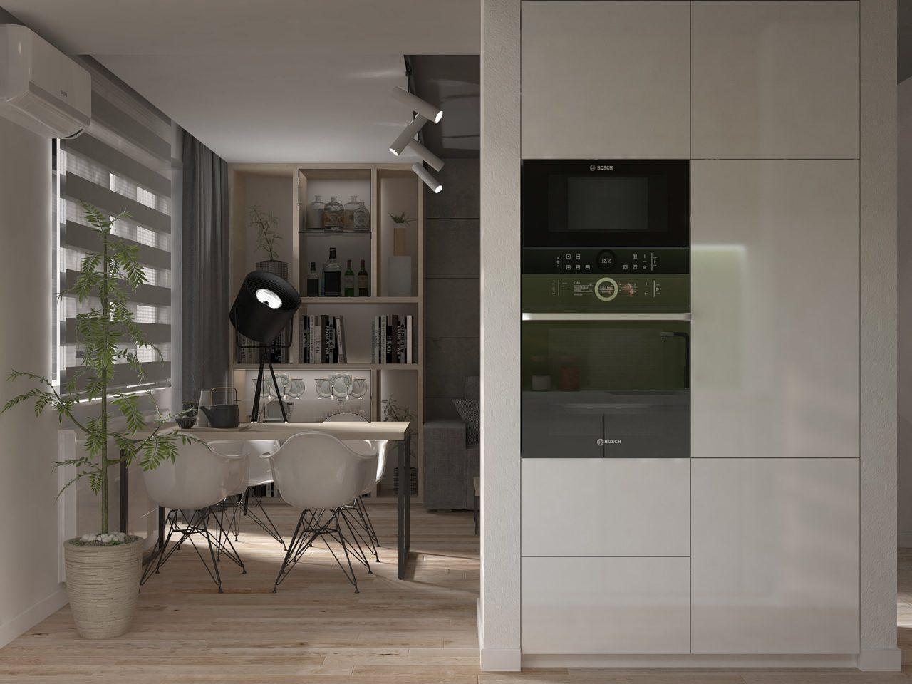 Projekt mieszkania M3