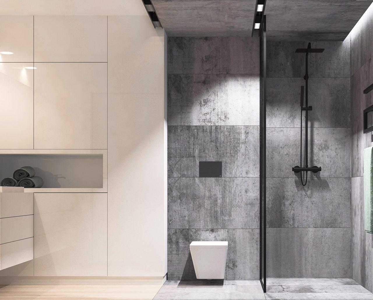 Projekt interior.3_sypialnia_łazienka