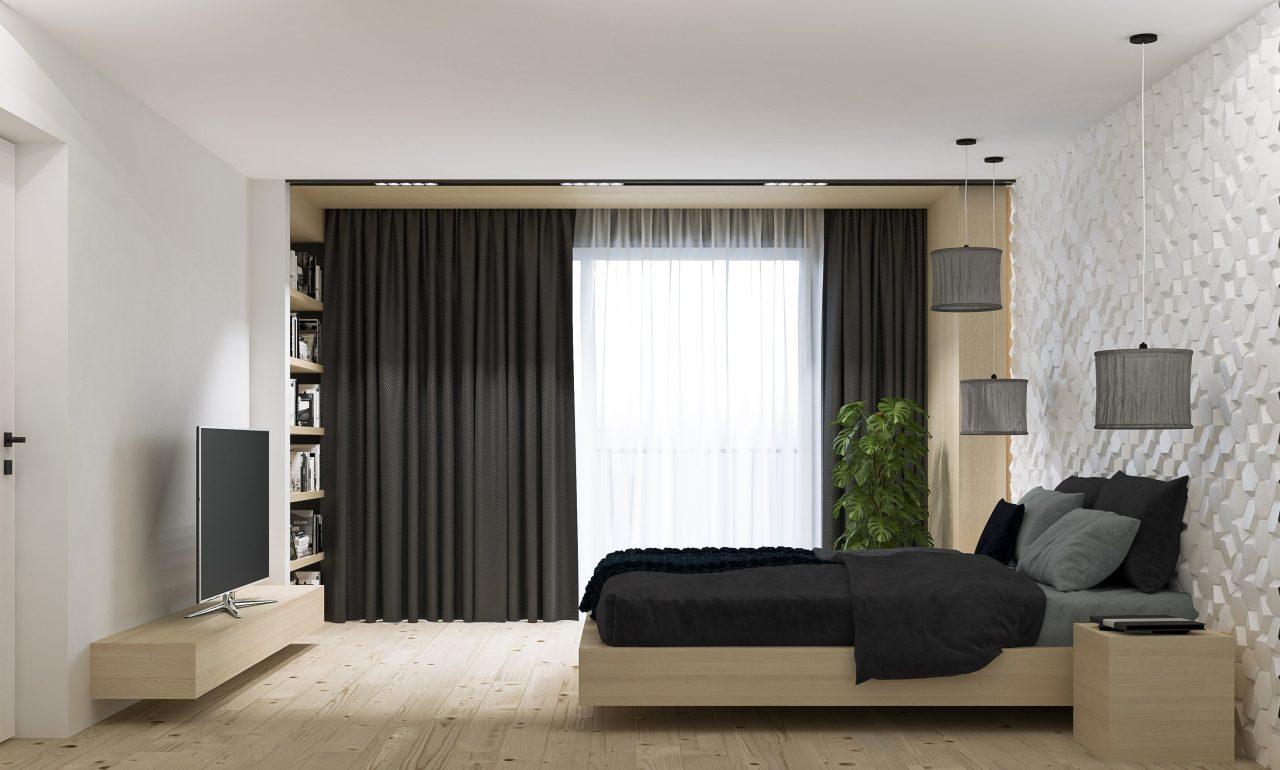 Projekt interior.3_sypialnia_sypialnia