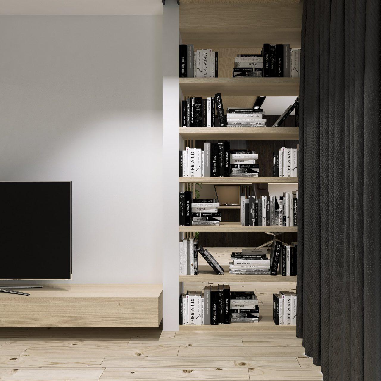 Projekt interior.3_sypialnia
