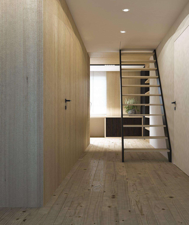 Projekt interior.3_sypialnia_korytarz
