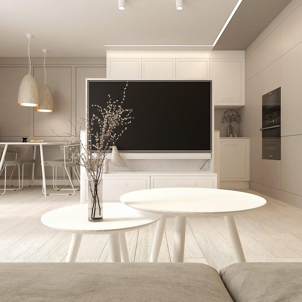 projekt wnętrza w stylu nowoczesnym | Rzeszów